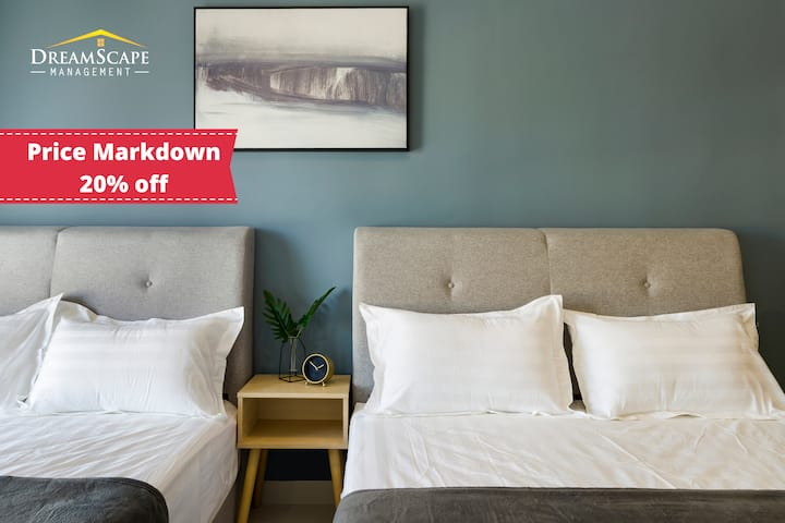 ✿【20% off】New Reno stylish studio -The Core Sepang