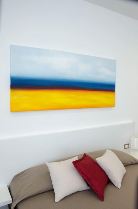 appartamento: particolare camera da letto