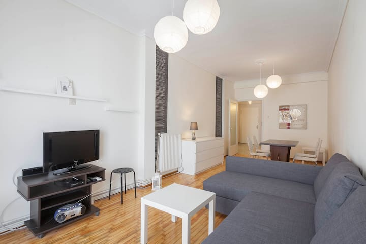 Modern & comfortable apartment(with internet) - Eleftherio Kordelio - Lakás