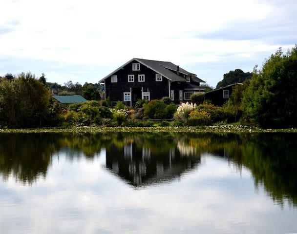 Hermosa y acogedora Casa Alemana - Llanquihue - 家庭式旅館