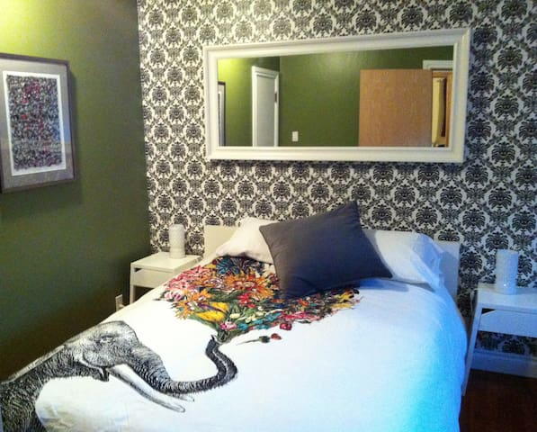 Spacious Bedroom in Cute Home