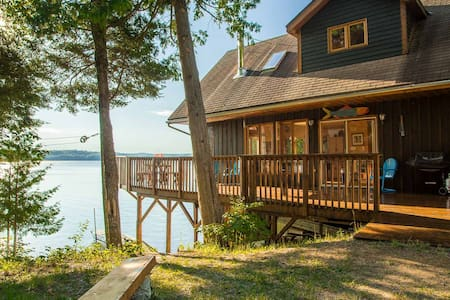 Waterfront cottage on Aylen Lake