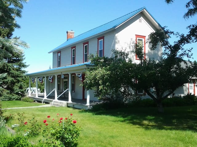 Wasco House Bed & Breakfast $95 - Wasco