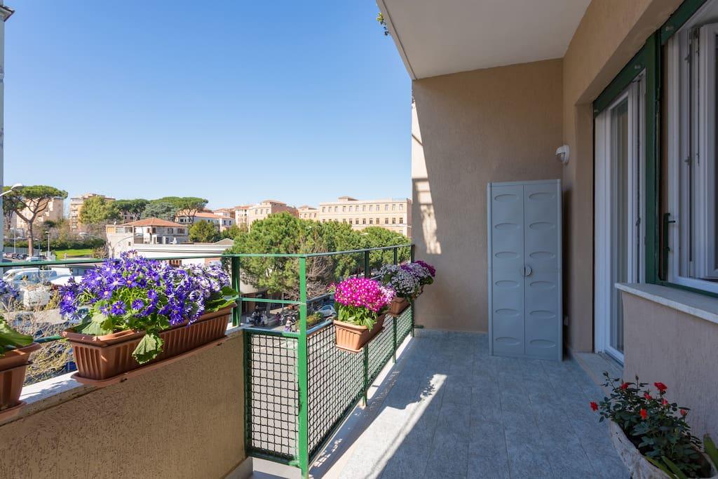 Terrazzo stanze Estate/Primavera