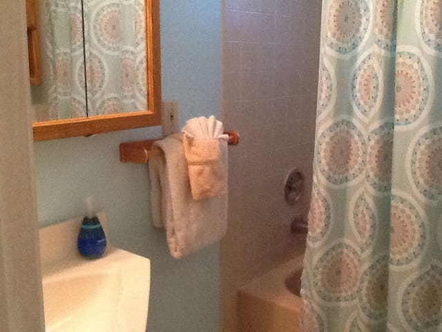 Your bathroom and full tub&shower
