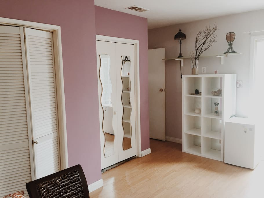 Two closets