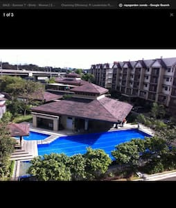 Beautiful Balinese inspired condo - Wohnung