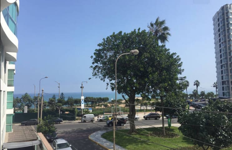 Beautiful apartment with ocean view - Lima - Apartment
