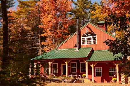 Private Post and Beam Ski House near Mount Sunapee - Goshen