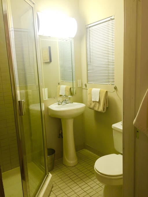 Private bathroom inside room