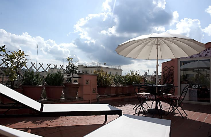 Wonderful terrace - Roma - Appartamento