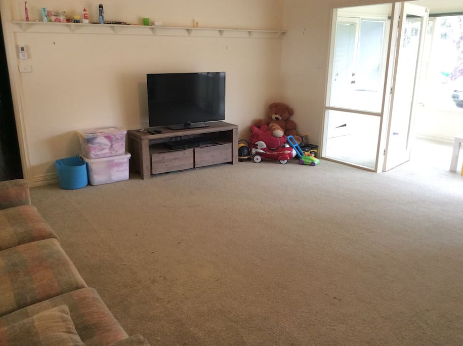 Kids playroom with Foxtel