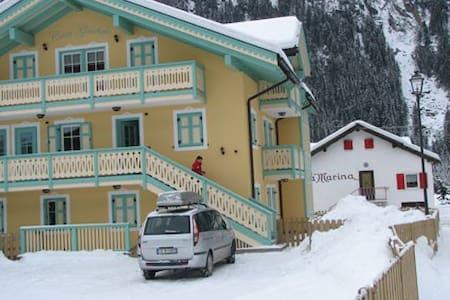 Appartamento 7posti in Val di Fassa - Fontanazzo - Apartemen