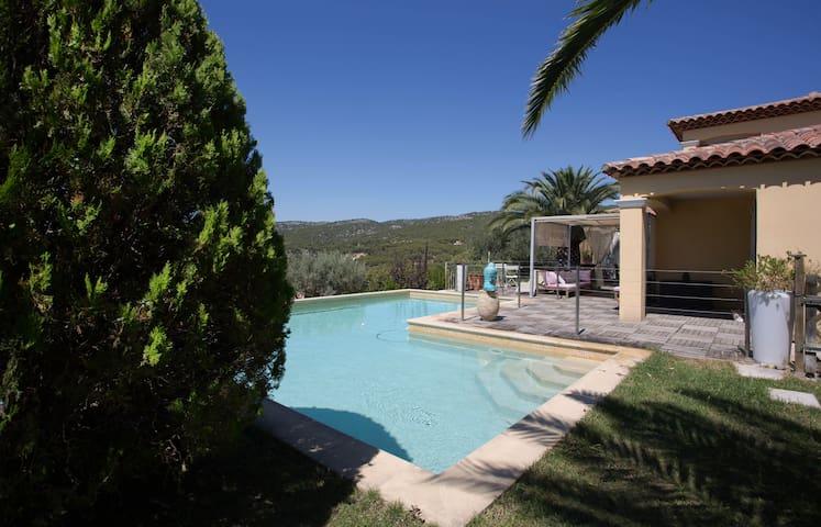 Chambre + terrasse privée vue mer - Ceyreste