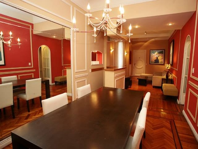 2 BR / 2 King Size Beds / Large Apt - Buenos Aires - Appartamento