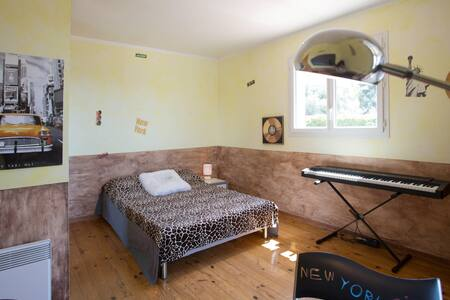 Chambre + terrasse privée vue mer - Ceyreste - House