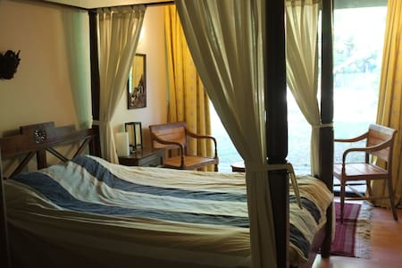 Chambre au milieu des arbres - Lamorlaye