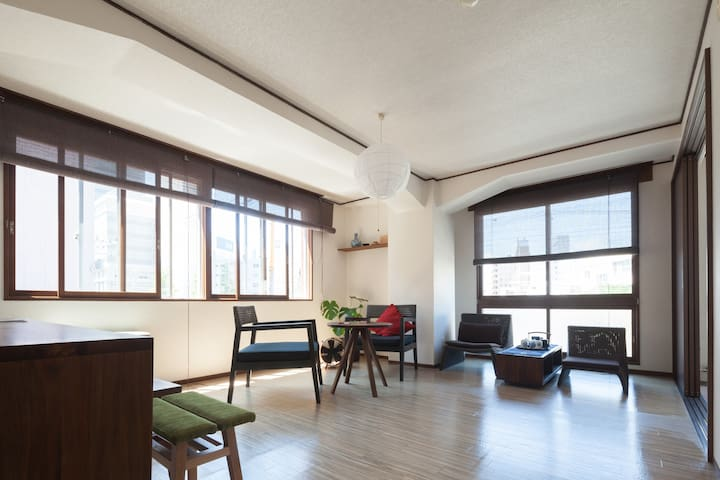 3min walk from station. Free WiFi. - Sapporo - Apartamento