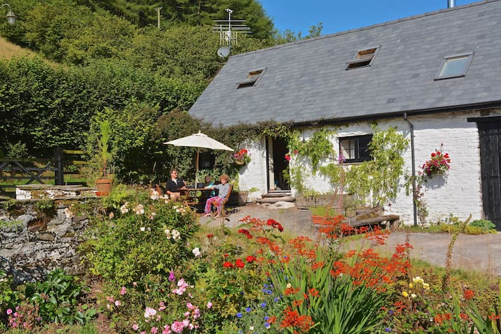 Barn cottage on a welsh hill farm - Powys - House