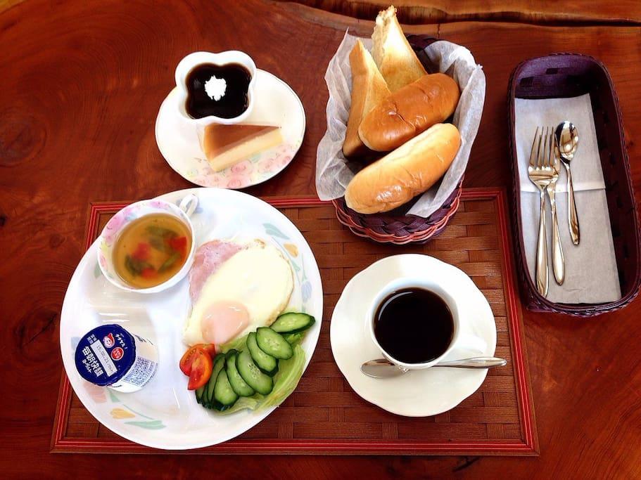Breakfast for free (bread ver.)