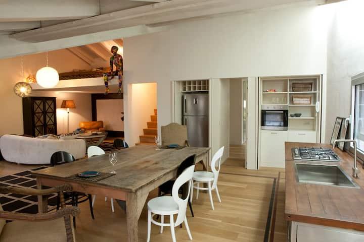Luxurious Loft with Terrace