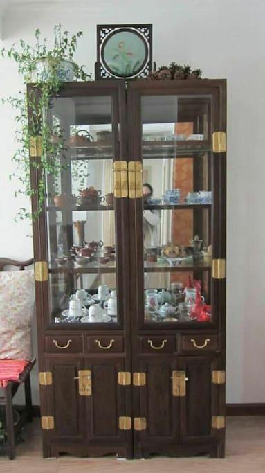 客厅茶具柜