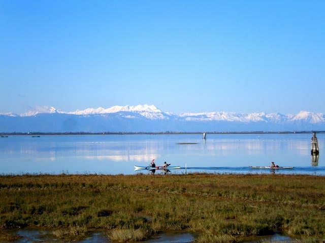 Beach, lagoon and quietness - Ca' Ballarin