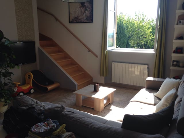 Duplex Monts d'Or Proche Lyon - Lissieu - Appartement