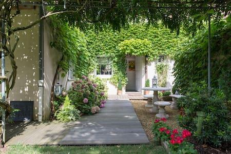 Petit nid bleu dans la verdure - Villa