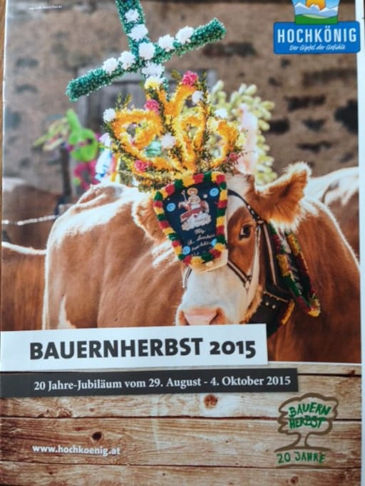 Bauernherbst in the area from end of August to beginning of October - worth seeing!