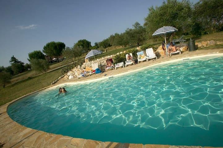 A 5 km da Siena con piscina - San Rocco A Pilli - Lägenhet