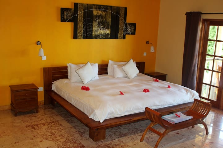 Luxury room with fantastic sea view - Mahe - Dom
