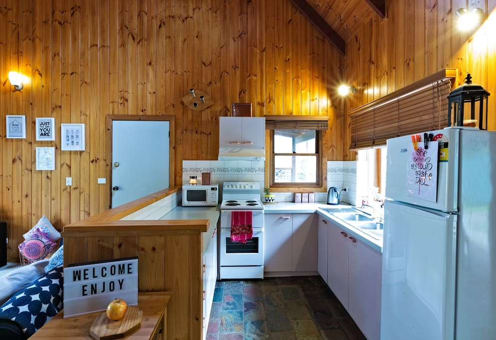 Bright kitchen to cook up a country treat