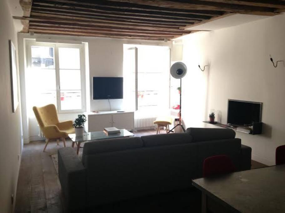 Appartement architecte haut marais le for Architecte ile de france