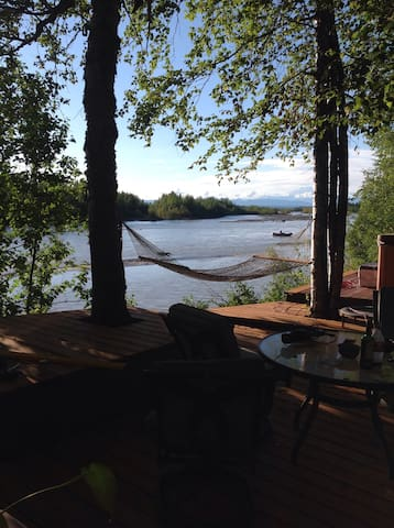 Doug Geeting's River Chalet - Talkeetna - Xalet