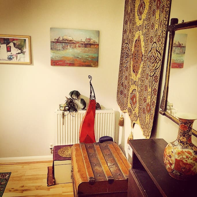 On entering the flat you will immediately get a sense of the cosy and welcoming environment.
