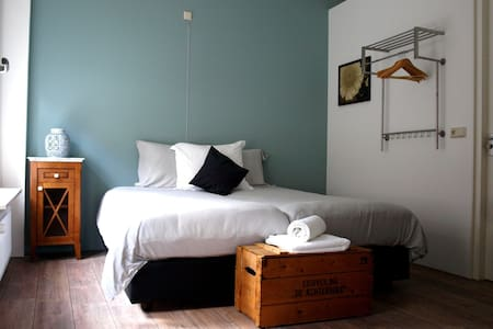 Luxury Blue room: 't Shanda Lee B&B - Lochem