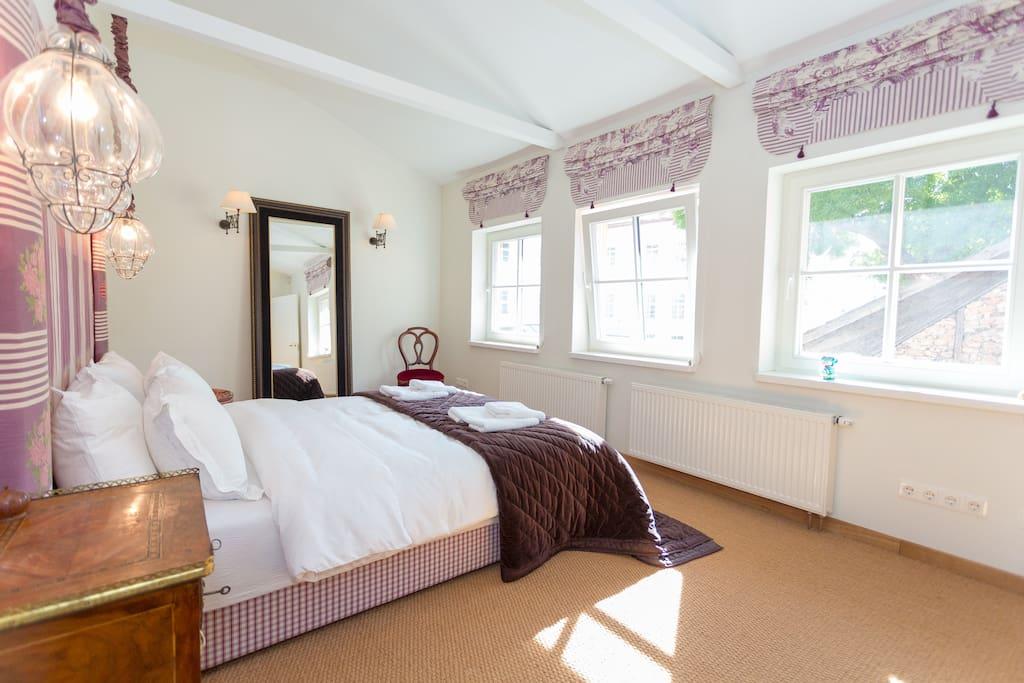 Main bedroom on second floor