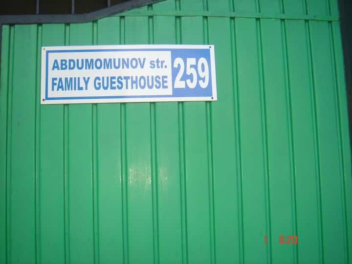 The Family Guesthouse in Kyrgyzstan