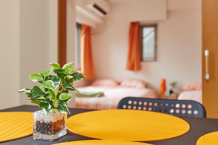 3 DOUBLE BEDS HIGH-TECH SPACIOUS APT SHIBUYA - Shibuya-ku - Apartemen