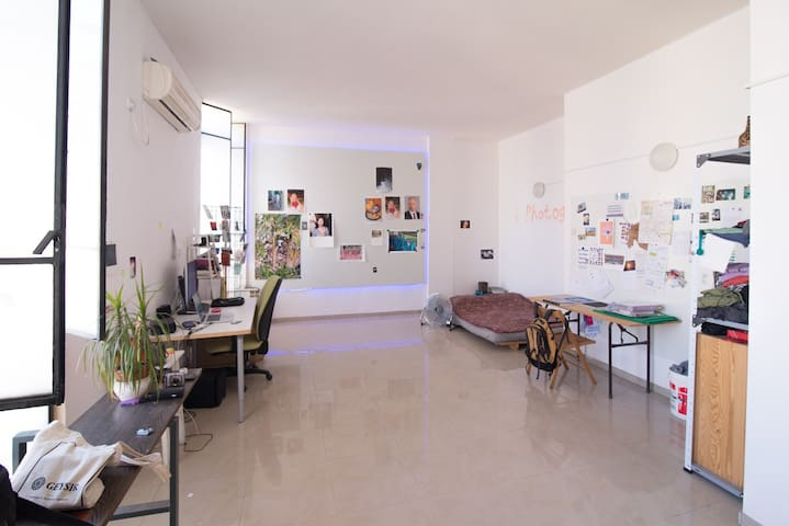 Arty loft space in South Tel-Aviv - Tel Aviv-Yafo - Loft