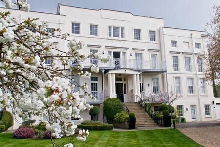 Hampton Court Palace, Riverside. - East Molesey