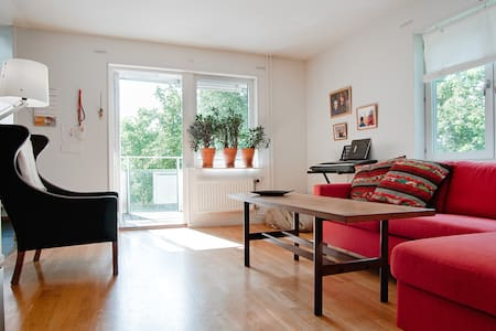 Cosy room in quiet residential area - Lidingö - Wohnung