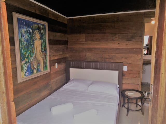 Room for 4 people in Jericoacoara´s center!