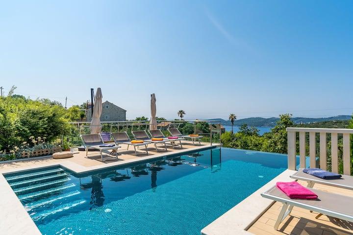 Villa La Vagabonda One-Bedroom apt w. heated pool