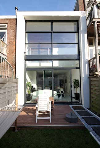 Modern 3 story house in the city - Utrecht - Rumah