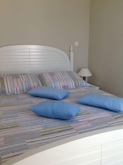 Dear bedroom with balcony
