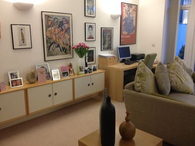 Beautiful apartment near centre with 3 double beds - Oxford - Apartment
