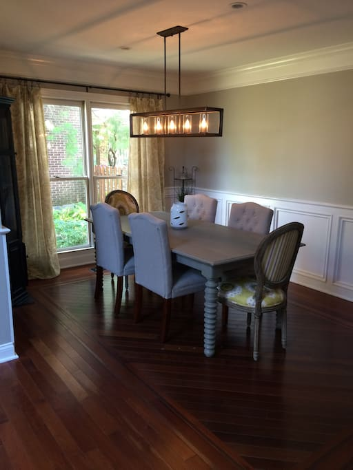 Dining for (6) - additional chairs available if requested