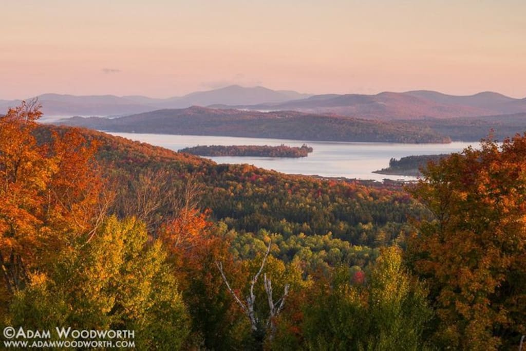 Autumn in Rangeley during a hike off Rt. 17